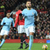 Otamendi wins derby to fire Man City 11 points clear