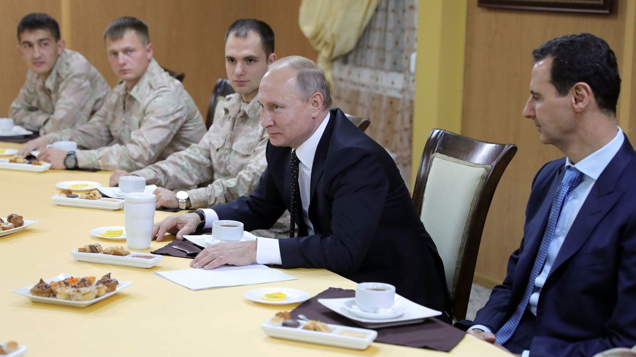 Russia begins its partial withdrawal from Syria