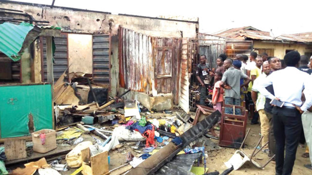 Overnight fire kills  family of four in Lagos