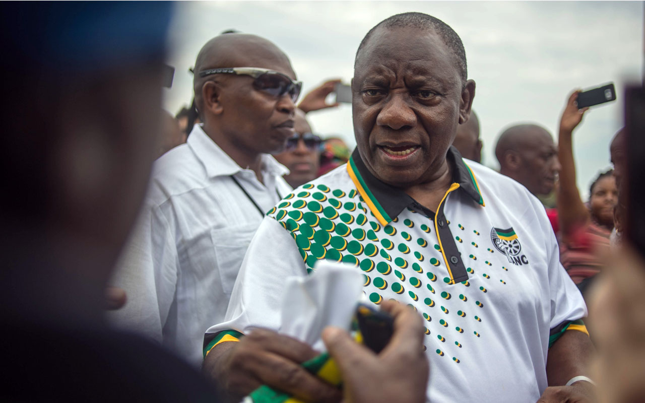 Uhuru, SA deputy President Ramaphosa hold talks on open borders, stronger ties