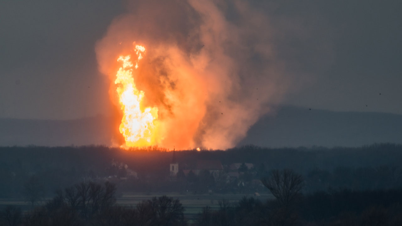 Deadly explosion creates huge fireball at natural gas facility in Austria
