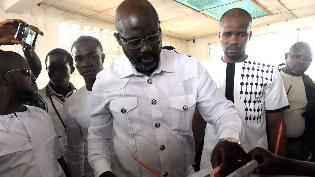 George Weah wins landmark Liberia presidential vote