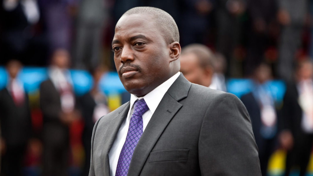 Joseph Kabila's residence burned down in DR Congo