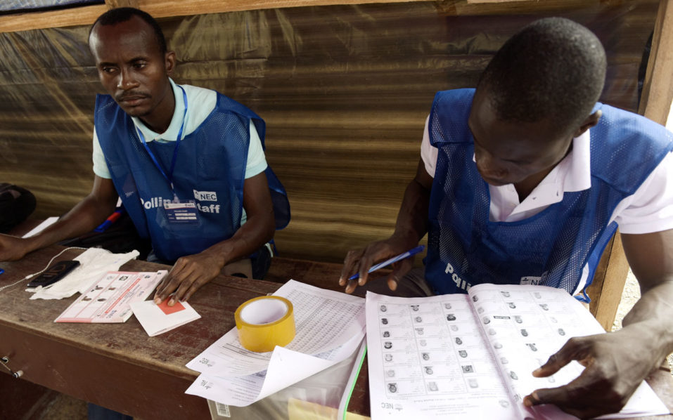 Counting under way in Liberia presidential run-off