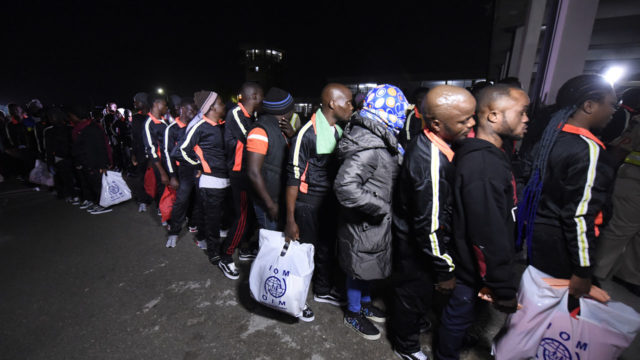 401 Nigerians return from Libya in tears