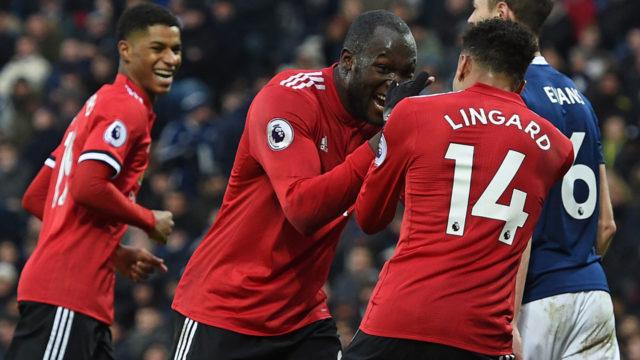 Lukaku, Lingard strike as United beat West Brom