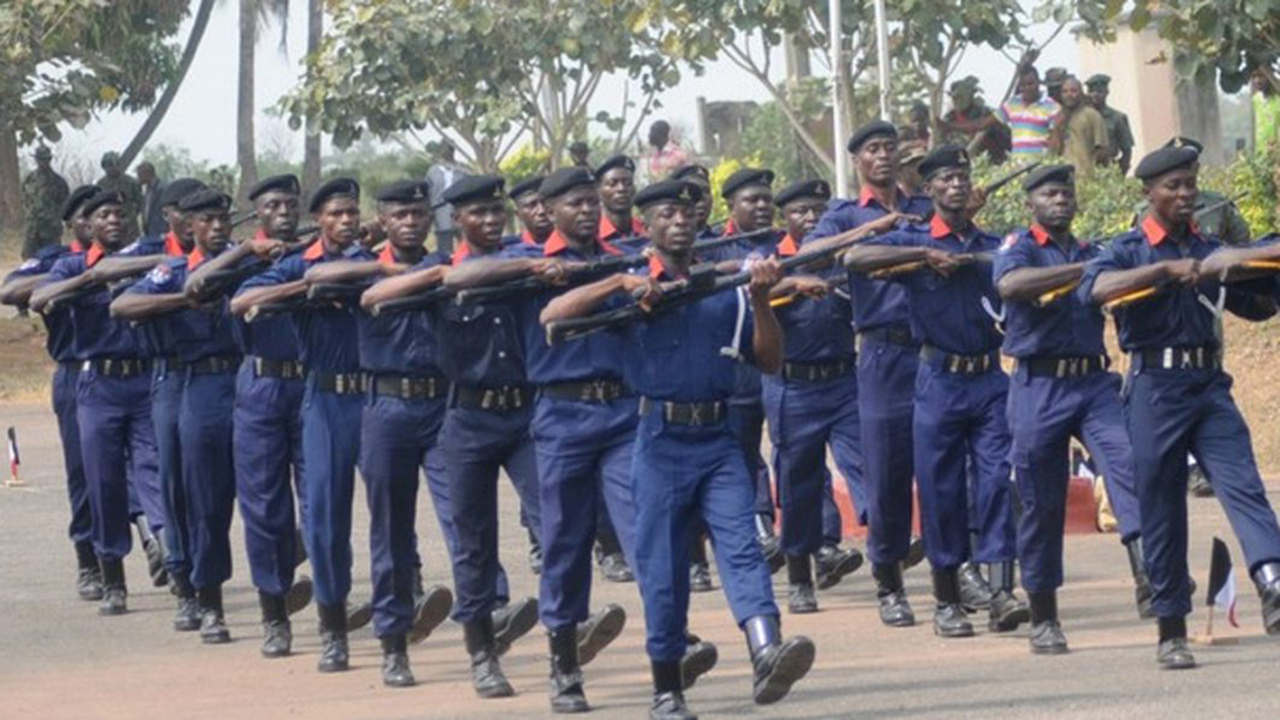 NSCDC Officers. Photo: PM News