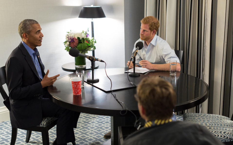 Obama warns of social media dangers, in interview with Prince Harry