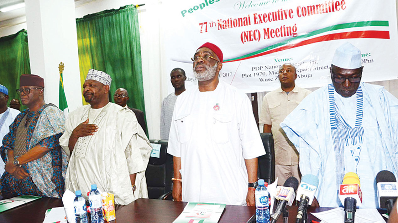 PDP Office Aspirants Deny Planning Parallel National Convention