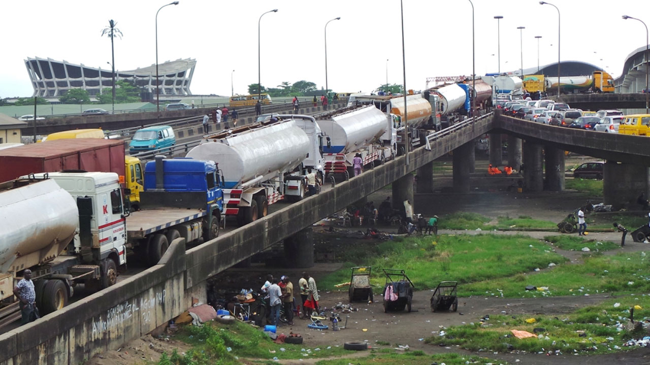 Lagos bridges under threat of collapse from parked trucks