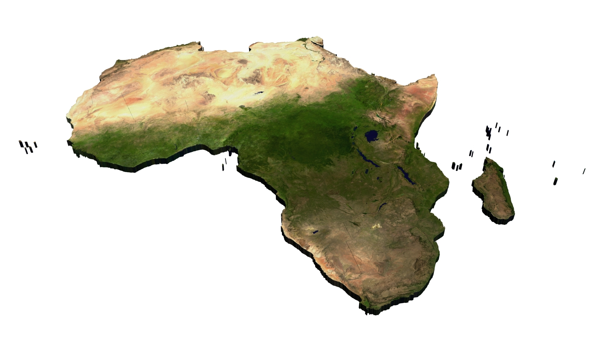 3d Map Of Africa Project.Beauty Of Africa Pageants Unveils 2018 Project The Guardian