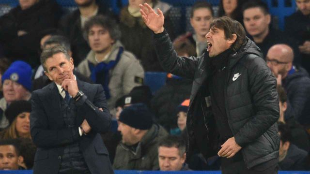 Conte frustrated as 10-man Leicester hold Chelsea