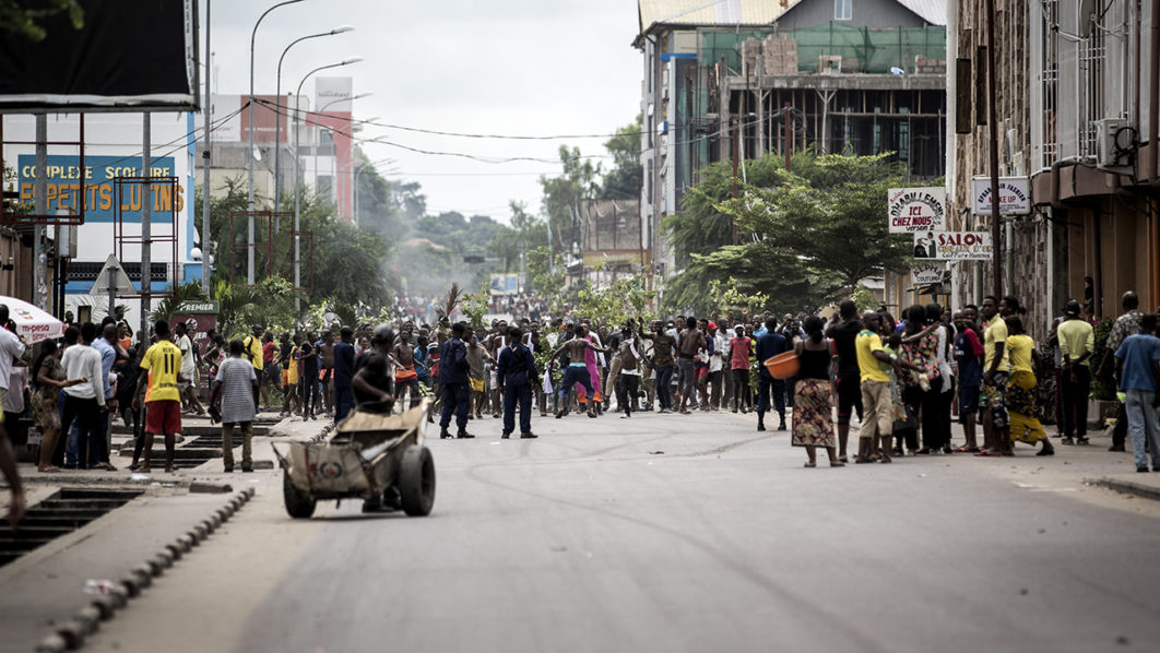 5 dead, dozens injured as Congo police disperse protests