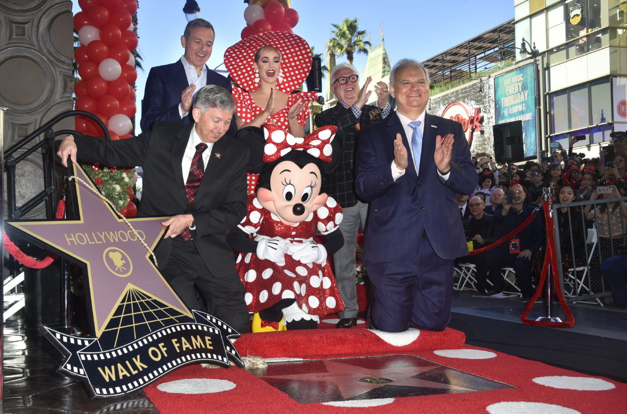 Minnie Mouse gets Hollywood star 40 years after Mickey