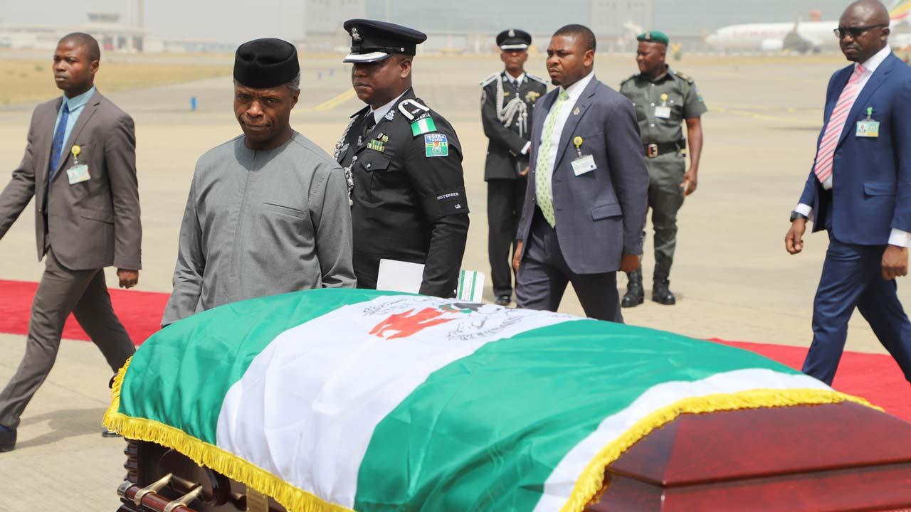 Image result for Ngige denies naming N1b for Ekwueme's burial