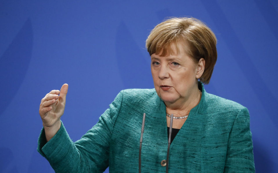 Merkel urges Germany's SPD to back 'fair' coalition plan