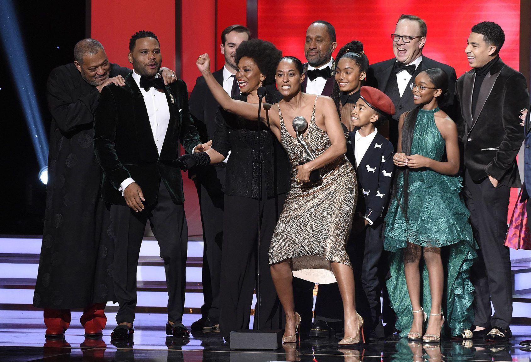 NAACP Image Awards support #TimesUp and encourage voting