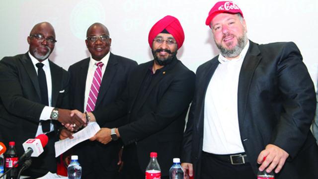 Coca-Cola joins Super Eagles family