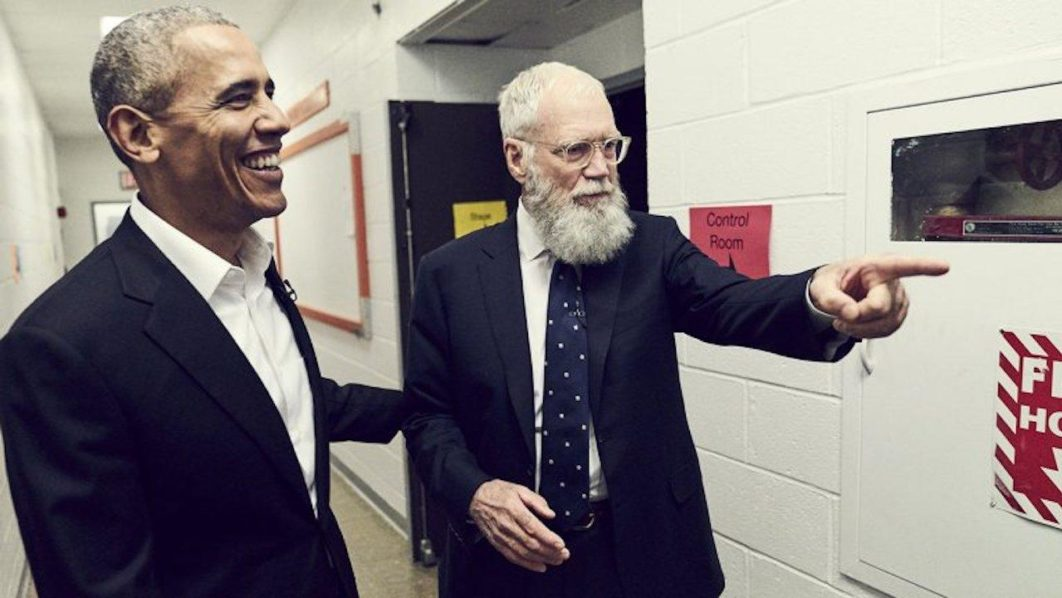 David Letterman's Netflix show to premiere next week with guest Barack Obama
