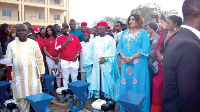 NGO donates school building, empowers 3,000 in Ebonyi community