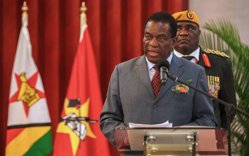 Interpol must bring Mugabe allies back, urges new president Emmerson Mnangagwa