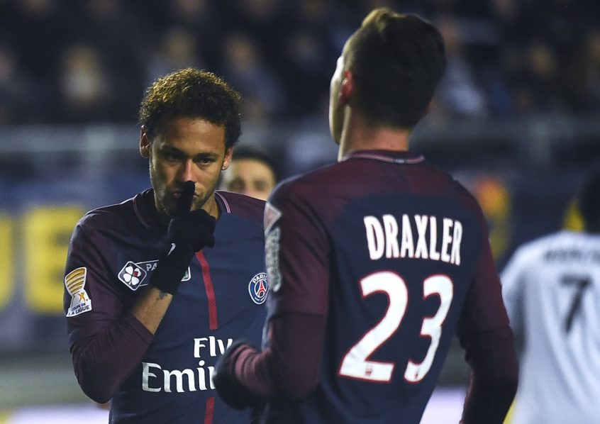 Neymar Scores As Paris St-Germain Reach French League Cup Semi-Finals