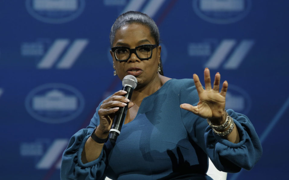 Oprah on presidential bid: 'Not for me'