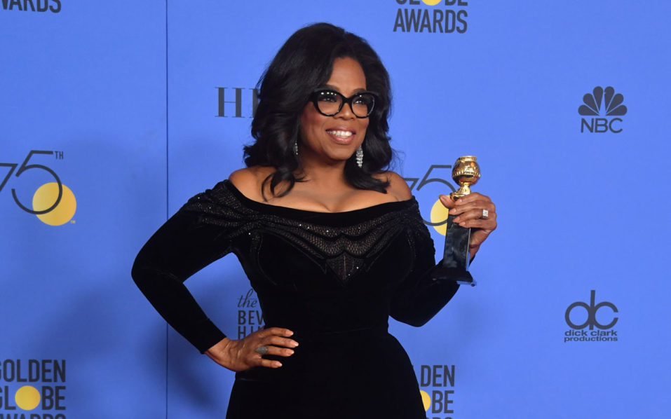 Oprah For President Speech Ignites Frenzied Us Speculation on golden globe cecil b demille award