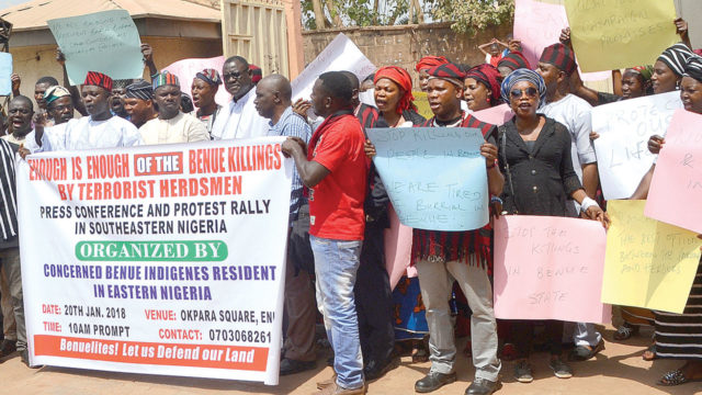 We will defend ourselves, Benue indigenes tell Buhari