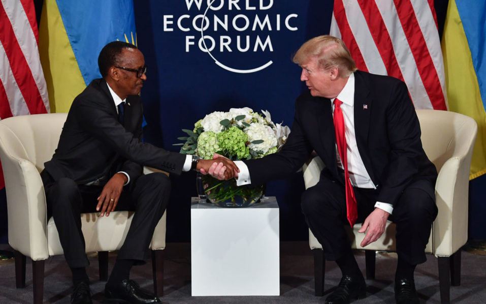 Trump sends 'warmest regards' to African leaders after reported slur