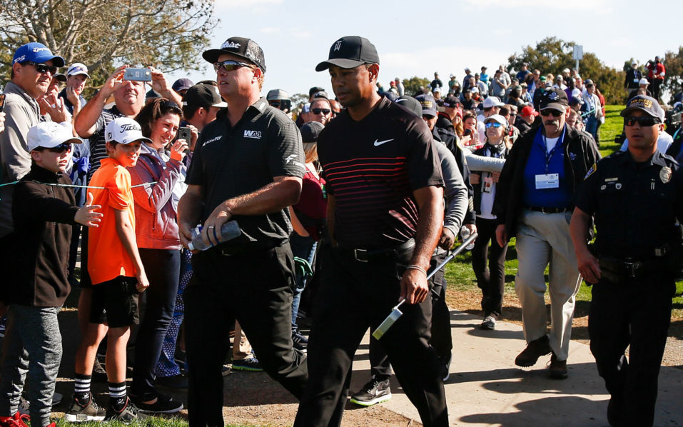 Tiger Woods' shotmaking in PGA Tour comeback impresses Reed