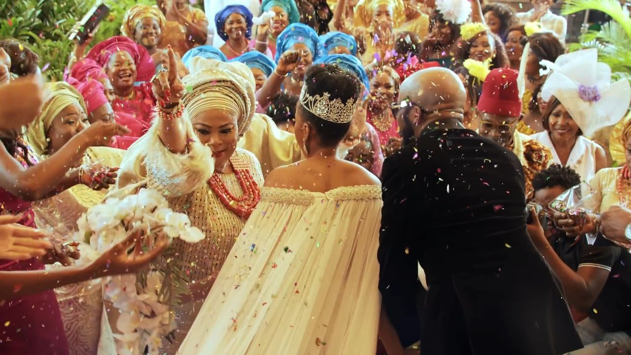 Guardian newspaper nigeria bespoke wedding decorations for the the wedding party movie is an example of a nigerian wedding photo credit youtube junglespirit Choice Image