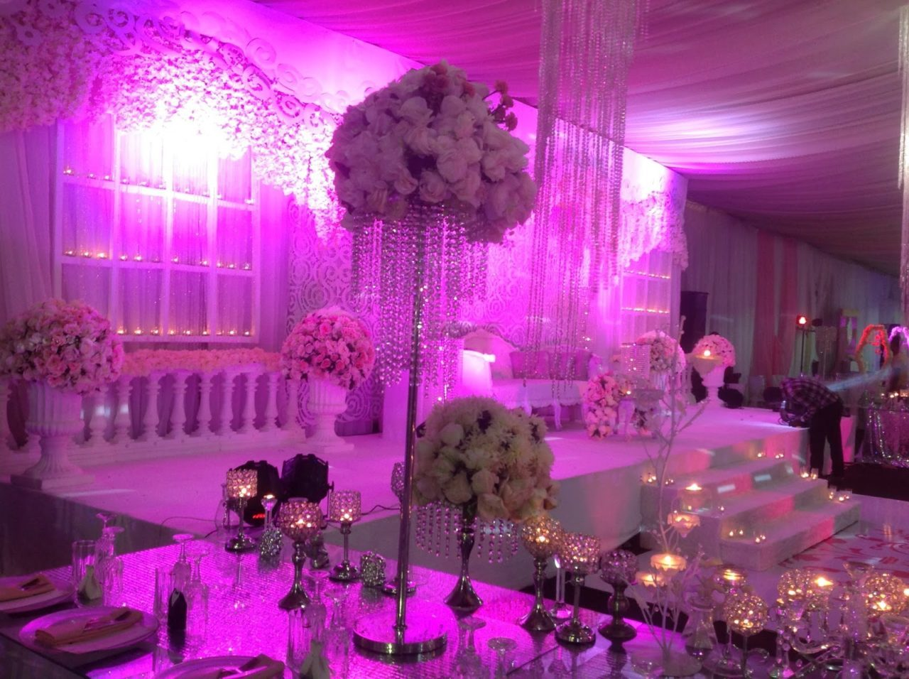 Bespoke wedding decorations for the nigerian at heart pink wedding theme photo credit pinterest junglespirit Images