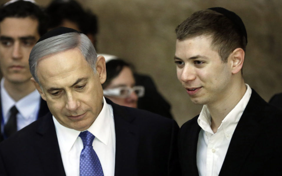 Netanyahu's son under fire after 'strip club' tape