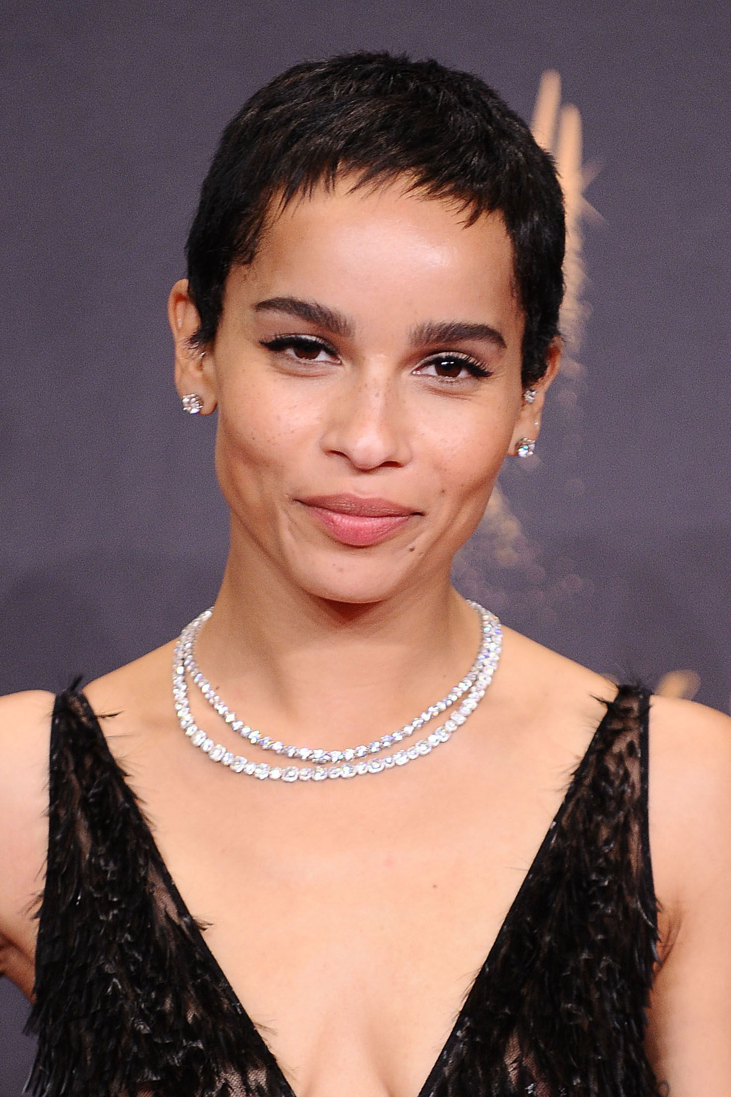 Zoe Kravitz in an elegant accessory. Photo Credit: Jason LaVeris/FilmMagic