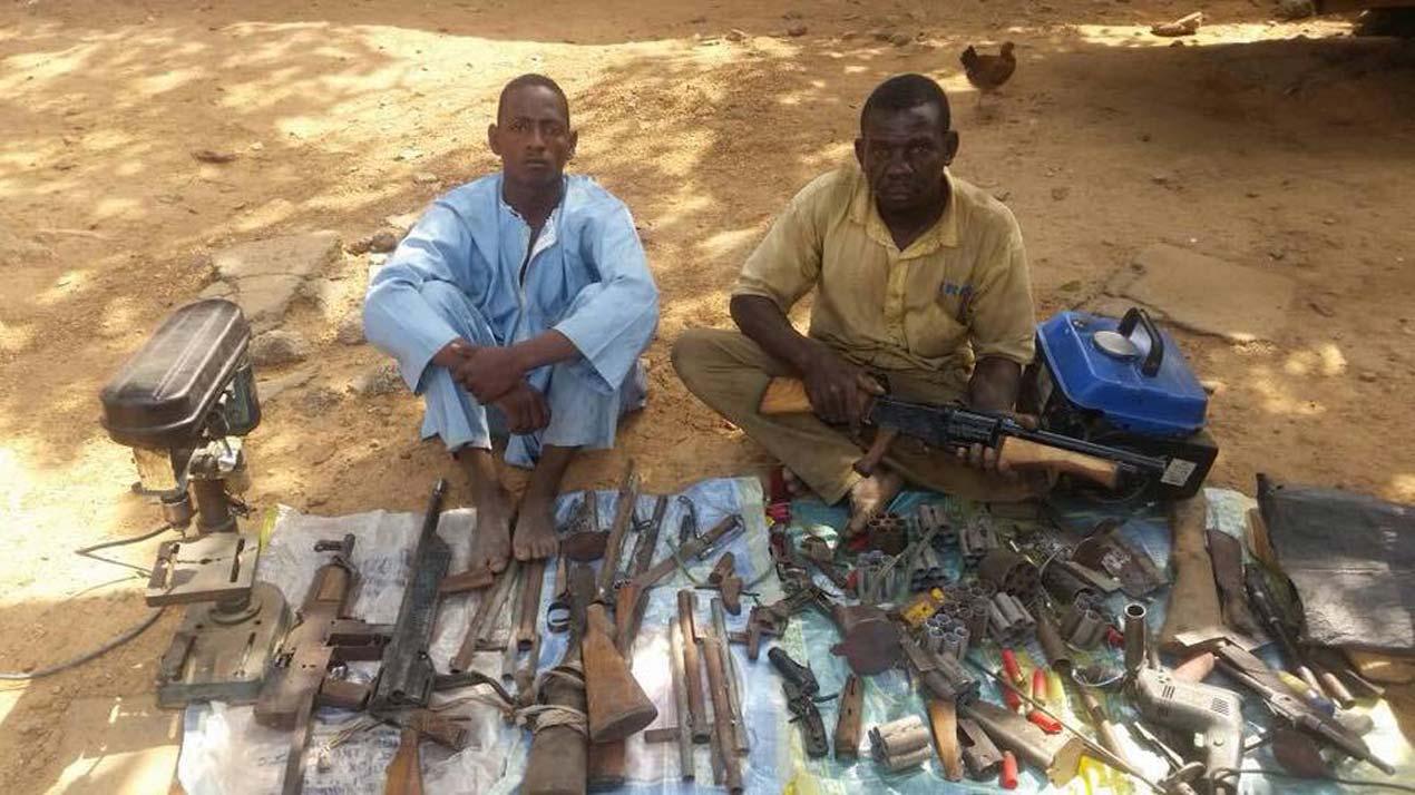 Troops arrest suspected gunrunner, arms manufacturer in