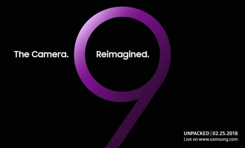 Samsung to Unveil the New Galaxy S9 on February 25