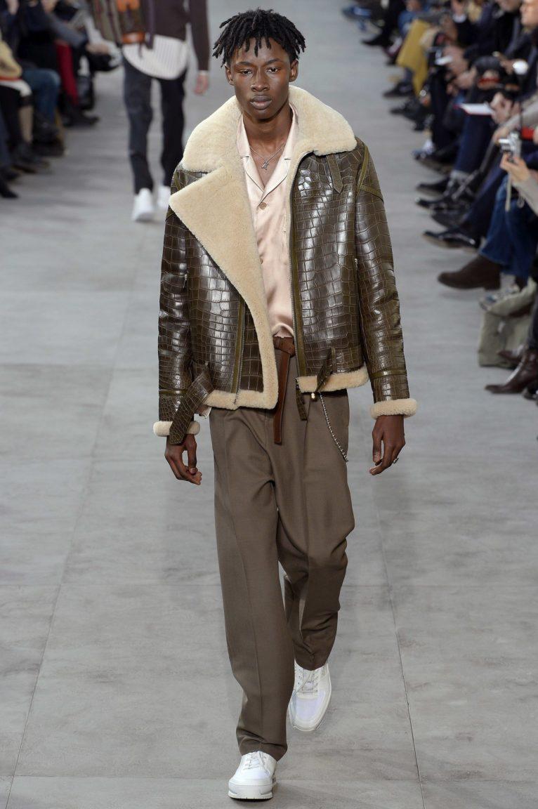 bf646c6c0f90 Louis Vuitton At The Paris Fashion Week Mens Wear 2017 2018. Photo credit   Vogue