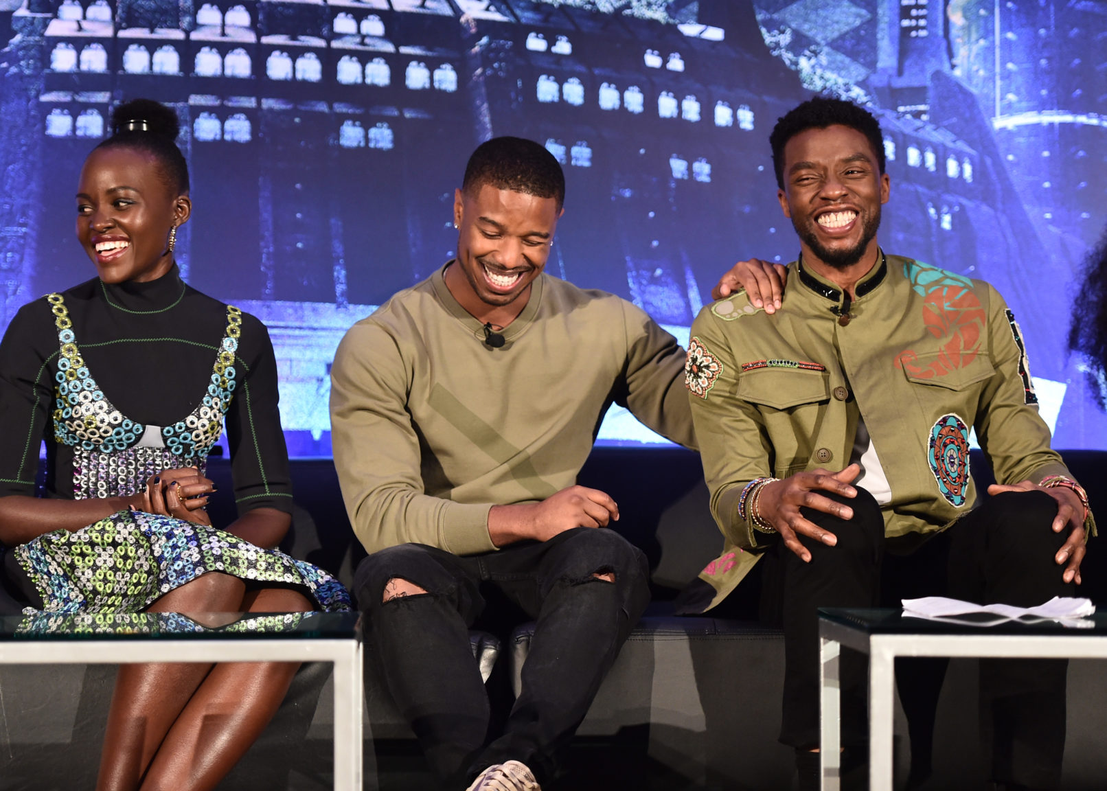 ", Michael B Jordan Visited A Therapist After Role In ""Black Panther"", Nightwatchng"