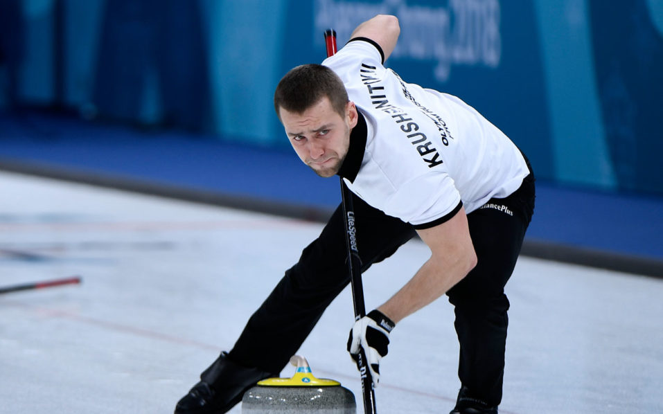 CAS says Russian curling medalist Krushelnitsky guilty of doping violation