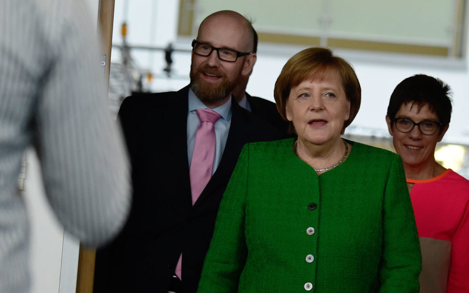 Merkel proposes close ally for crucial party job