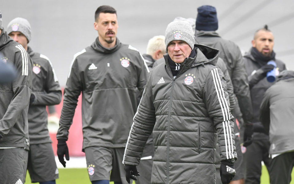 SPORT: Heynckes brings treble spirit to resurgent Bayern Munich