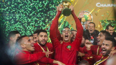 Woeful Eagles thrashed 4-0 as Morocco's Atlas Lions win CHAN title