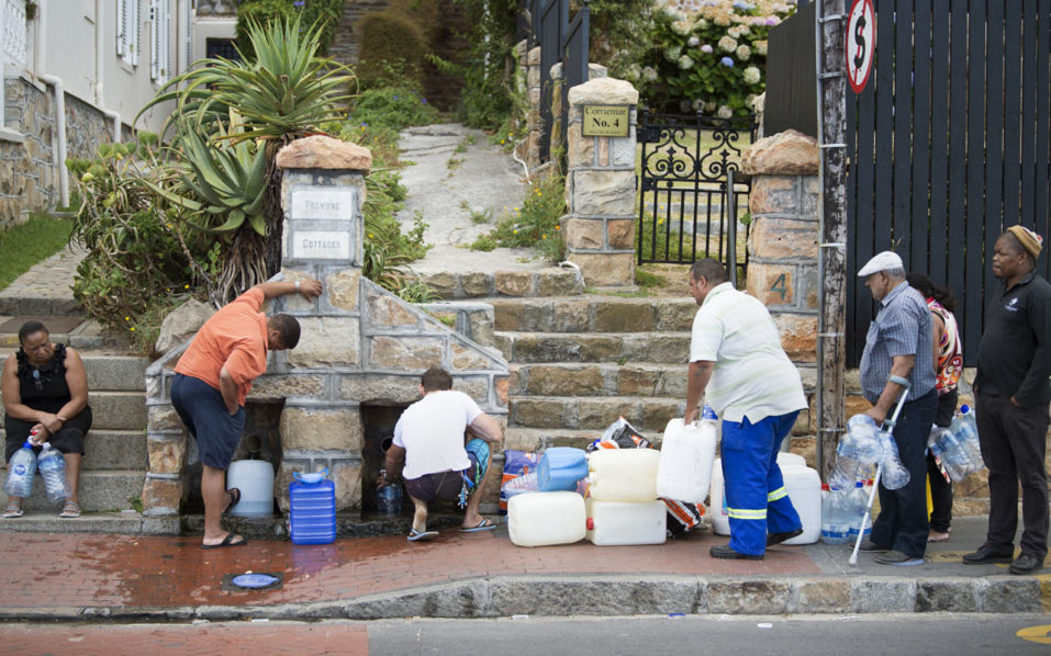 African mining indaba delegates comment on Cape Town water crisis