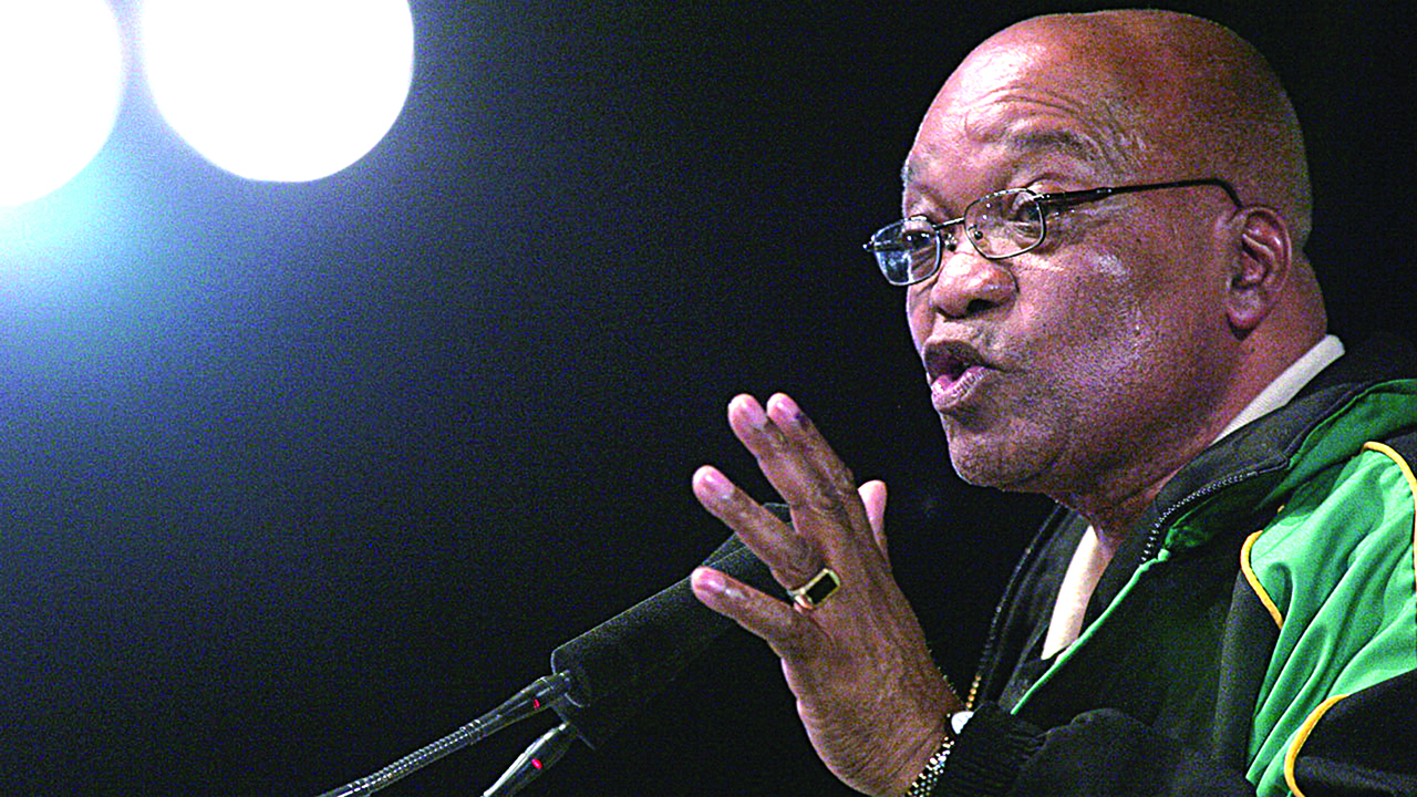 Zuma resigns as South Africa's president