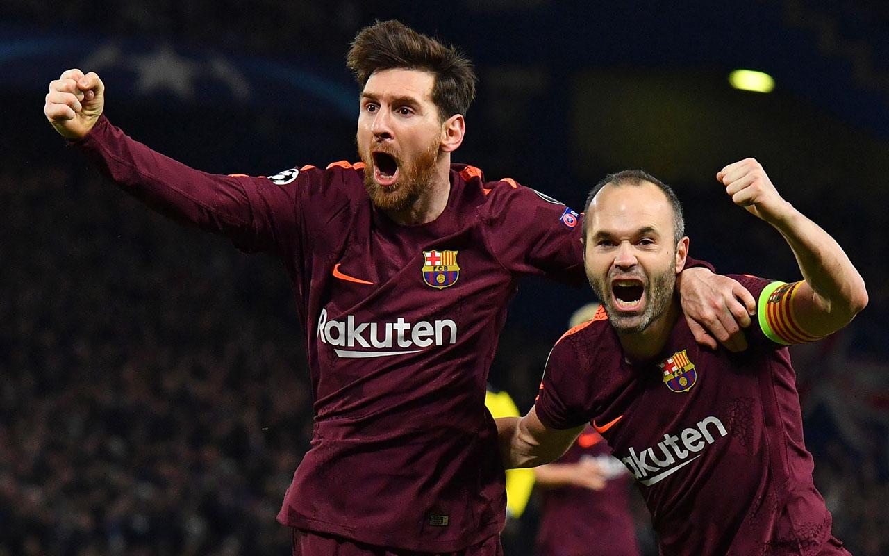 Iniesta: Messi Lebih Baik di Barca
