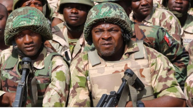 Image result for Nigerian Army harps on regular training for combat-readiness of  troops