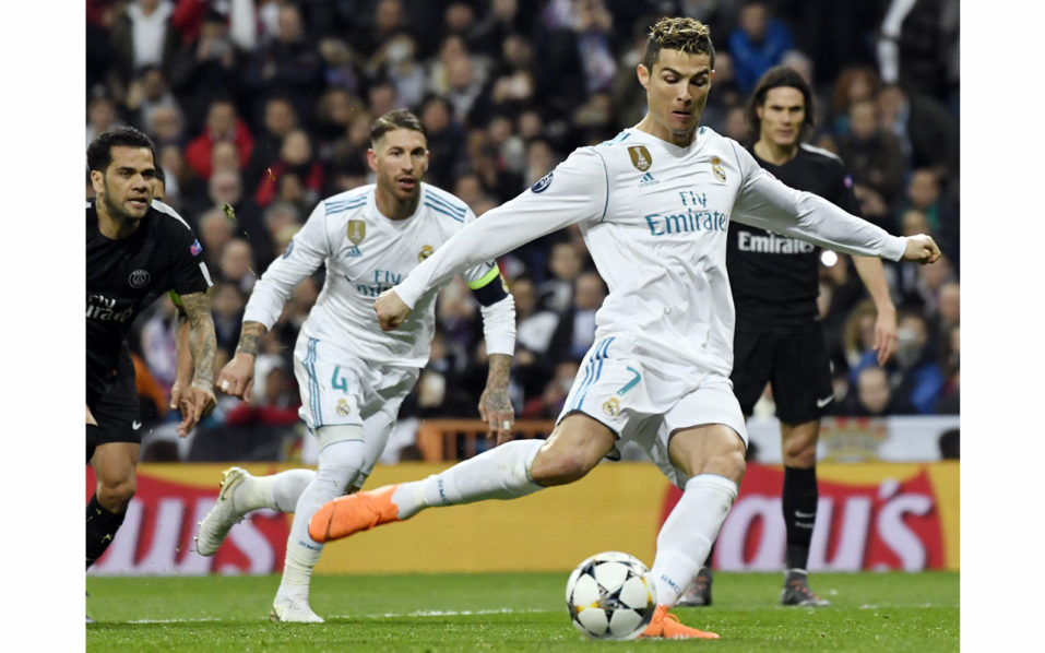 Champions League: Cristiano Ronaldo scores record 101 goals for Real Madrid