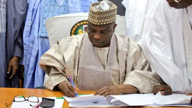 Sokoto governor, Tambuwal, okays Namadi Sambo's screening committee