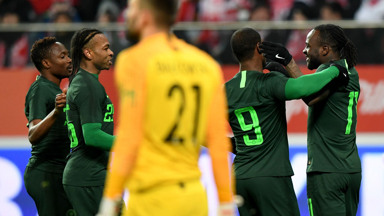 Super Eagles win pre-World Cup friendly against Poland
